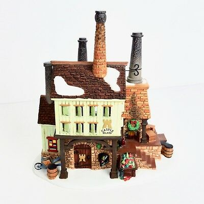 Department 56 New England Village Castle Glass Works #56.56661 Retired LE w/ Box