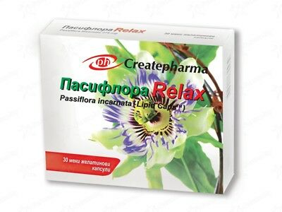 Passiflora Relax * 30 caps.Helps in case of anxiety and irritability!