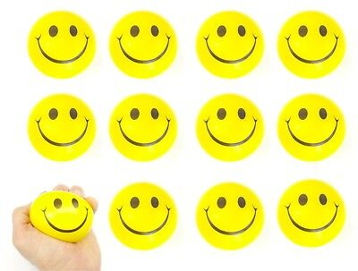 Smiley Face Anti Stress Relief Squeeze Sensory Toy Ball ADHD SPD ASD Autism Mood