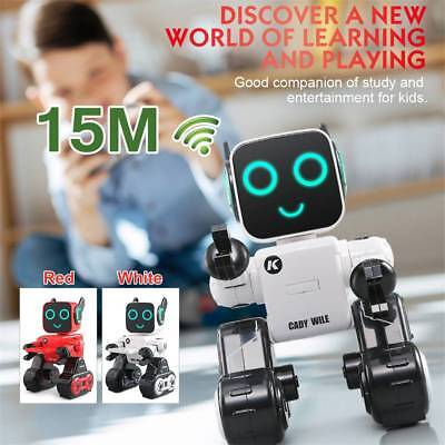 AU! JJRC R4 Cady Wile 2.4GHZ Intelligent Remote Control Roro-advisor Robot Gifts