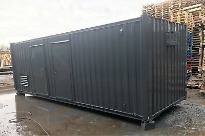 24' X 10' A/v Generator Welfare Unit In Grey