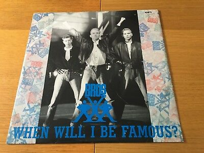 """Bros - Lot Of 3 12"""" Singles - When Will I Be Famous,cat Among Pigeons,too Much"""