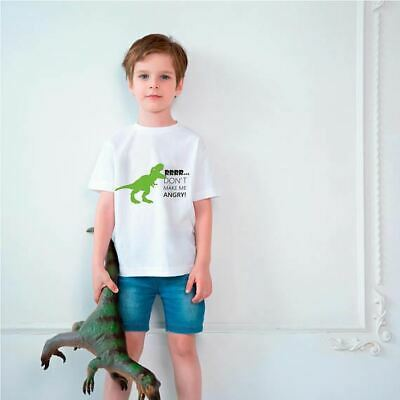 Dinosaur Tyrannosaur Shirt For Kids Boy Girl TeeShirt T-Shirt Funny Shirt T-Rex