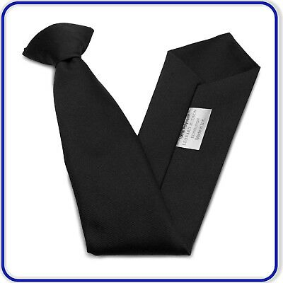 """20"""" Clip on Tie Mens Adults Plain Business Tie Wedding Party Funeral Clip on Tie"""