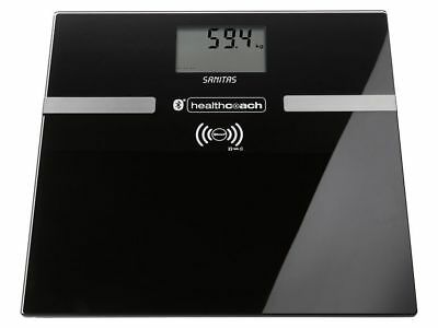 Sanitas SBF70 Anthratziit Bluetooth Scales Works over App Healthcoach Ios