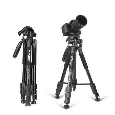 Tripod Stand Travel Camera Dslr Head Portable Monopod Aluminum Professional Ball
