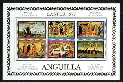 Anguilla – 1977  – Easter  – Vf **