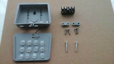 BT66B External Joint Junction Box with 1A Block Insert Securing Clamps & Screws