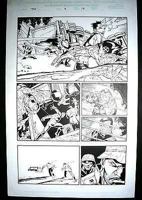 Adam KUBERT- Ultimate X-Men - Original Art