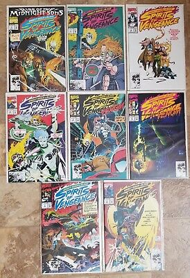 Rise Of The Midnight Sons Ghost Rider Blaze Spirits Vengeance 1 8 Marvel