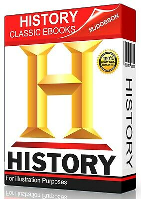 HISTORY eBooks for Kindle, Sony Readers 900+ Classic .DVD