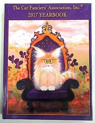 Cat Fanciers' Association 2017 YEARBOOK - CFA - Coffee Table Photo Book - NEW