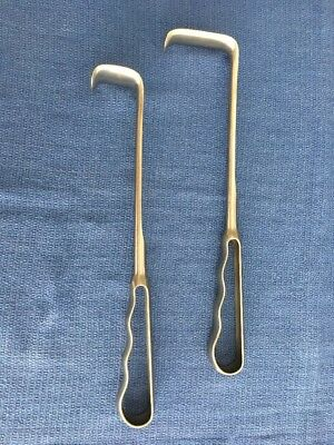 # Jarit 202-156 & 202-160 Richardson Appendectomy Retractors Stainless Germany