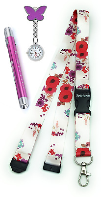 Deal From Spirius - Nurse Toe Watch + First Aid Torch Lamp +Neck Strap Lanyard