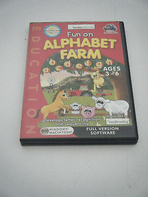 PC Game /  Learning.  Fun on Alphabet Farm.  Ages 3 - 6