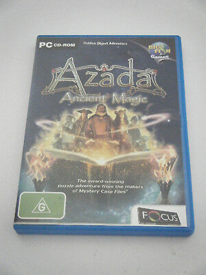 PC /CD ROM Hidden Object Adventure Game - Azada Ancient Magic
