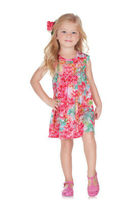 ee057c41f PULLA BULLA TODDLER Girl Tropical Style Dress -  10.12
