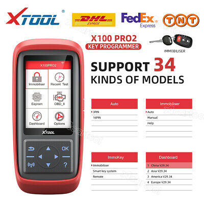 XTOOL X100 PRO Auto Prgram Scanner Tool X100+ Update Free with EEPROM Adapter