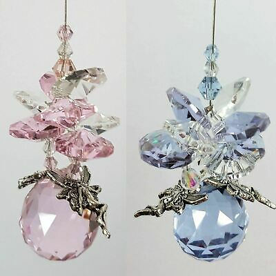🇦🇺 4 Fairy Crystal Suncatchers wholesale bulk car mirror window hanging prism
