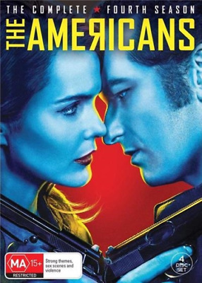 The Americans - Season 4 DVD [New/Sealed] Uk Compatible OFFICIAL RELEASE