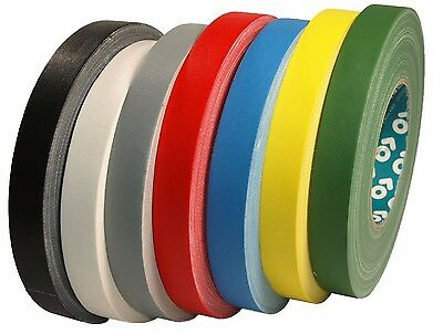 AT159 Gaffa Tape 15mm x 50m Woven Tape Matte Duct Tape Adhesive Tape