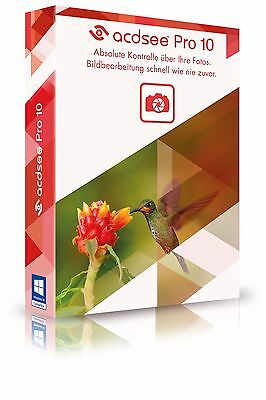 ACDSee Pro 10  Vollversion ESD / Downloadversion EAN 4025461004639 ACD Systems