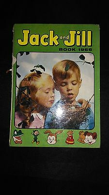 Jack And Jill Book 1966 Vintage Childrens Annual