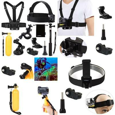 Luxebell 9 In 1 Zubehr-Set Fr Sony Action-Kamera, Action-Cam-Set