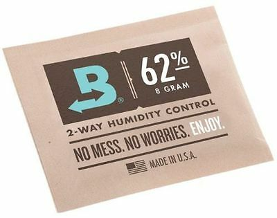 3x Boveda 62% RH 2-Way Humidity Control (8 Gram pack) RM24