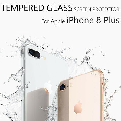 """Ultra Clear Tempered Glass Screen Protector For Apple iPhone 8 Plus (5.5"""")"""