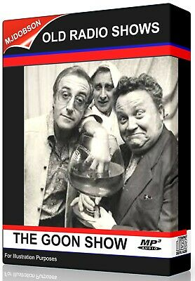 THE GOON SHOW OLD TIME RADIO SHOWS 2 x MP3 CDs