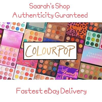 Genuine Colourpop Pressed Powder Shadow Palettes Eyeshadow Imported from USA