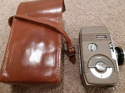 Revere Eight Model Ffty Movie Camera and Carry Case