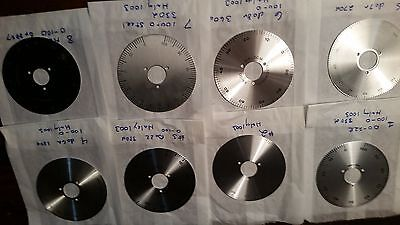 "4"" Dial plate 0-100  variac, potentiometer, rheostat ham, radio, choice of 1"
