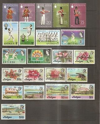 British Commonwealth - Mint Stamps From Antigua.