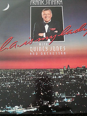 Frank Sinatra With Quincy Jones And His Orchestra - L.A. Is My Lady Vinyl