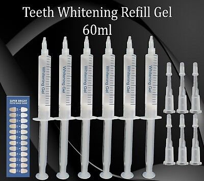 Teeth Whitening Refill Bleaching Gel Strong Quality Tooth Whitener Refill Kit