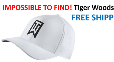 NEW INVENTORY! RARE! SHIPS IN BOX 2019 Nike TW Ultralite Golf Hat Tiger  Woods 970c8d37269