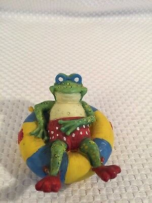 Russ The Hip-Hops Prince of Toads Frog floating BEACH toads figurine decor