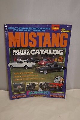 Paddock's 1995 - 1996 Mustang Catalog Parts and Accessories