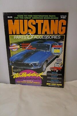 Paddock's Mustang Catalog Parts and Accessories P1M1