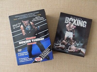 boxing dvds - Master boxing trainer secrets (boxset) and Ultimate boxing