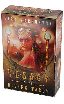 Legacy of the Divine Tarot (Set) - Ciro Marchetti - Inglés - Telling Card Deck