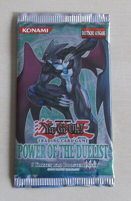 Yu-Gi-Oh 1 Boosterpack Power of the Duelist  Deutsche Ausgabe