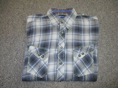 Very Nice Mens Georg Roth Los Angeles Button Up Shirt Size Xl