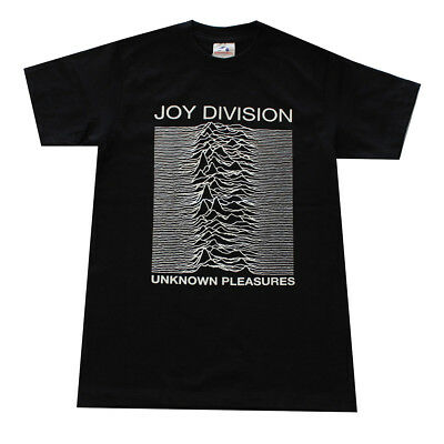 Children Boy Kids T- Shirt JOY DIVISION UNKNOWN PLEASURES Graphic Shirt Black