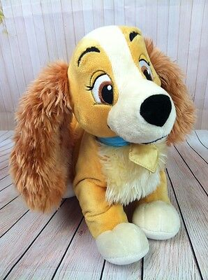 Walt Disney Lady And The Tramp Disney Store Exclusive Plush Dog Stuffed Animal