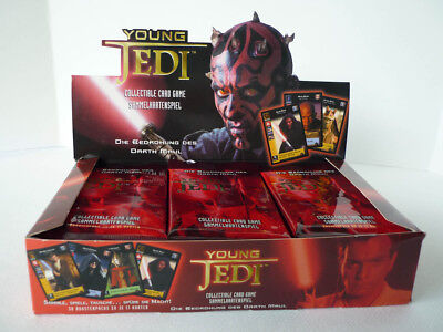 Star Wars - Young Jedi Booster Display - Deutsch - Sammel-Karten Neu & OVP