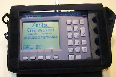 Nice Wiltron S331A Site Master + case, New Battery,Charger Fully Tested option 5