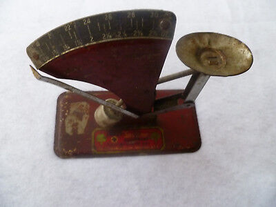 Vintage Metal OAKES Poultry Equipment Mini Egg Scale *Used, Working*